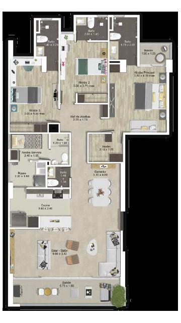 Apartamentos en Venta en Laureles